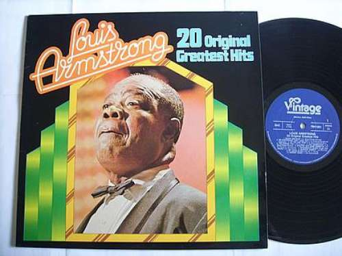 Cover Louis Armstrong - 20 Original Greatest Hits (LP, Comp) Schallplatten Ankauf