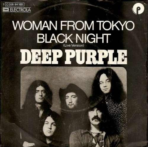 Bild Deep Purple - Woman From Tokyo / Black Night (Live Version) (7, Single) Schallplatten Ankauf