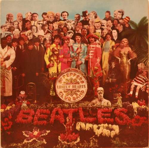 Cover The Beatles - Sgt. Pepper's Lonely Hearts Club Band (LP, Album, RE, Two) Schallplatten Ankauf