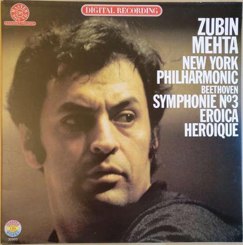 Bild Beethoven* / Mehta* / New York Philharmonic* - Symphony No. 3 Eroica = Heroique (LP) Schallplatten Ankauf