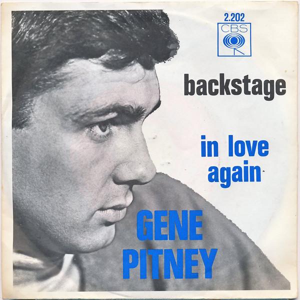 Bild Gene Pitney - Backstage (7, Single) Schallplatten Ankauf