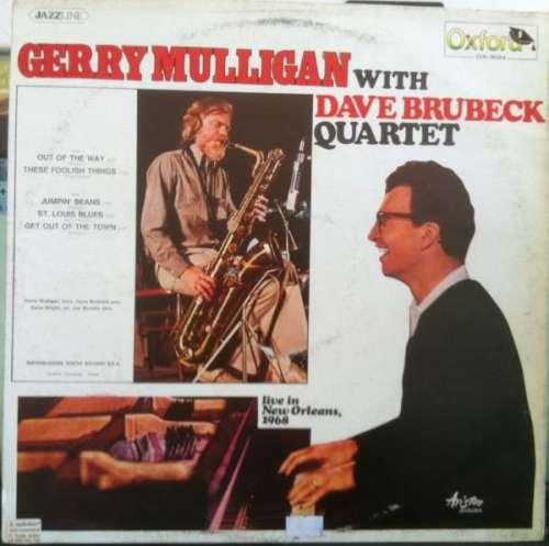 Bild Gerry Mulligan With Dave Brubeck Quartet* - Live In New Orleans, 1968 (LP, Album) Schallplatten Ankauf
