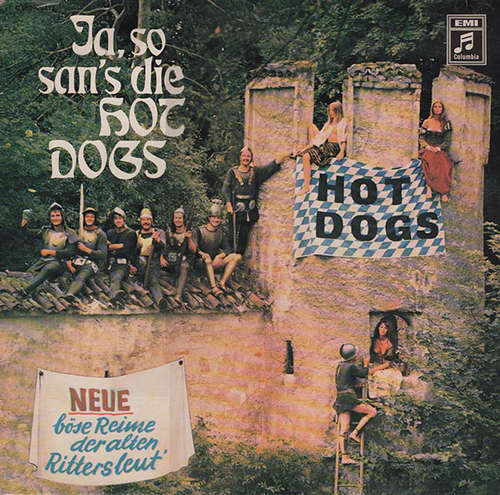 Cover Hot Dogs - Ja So San's Die Hot Dogs (LP, Album) Schallplatten Ankauf