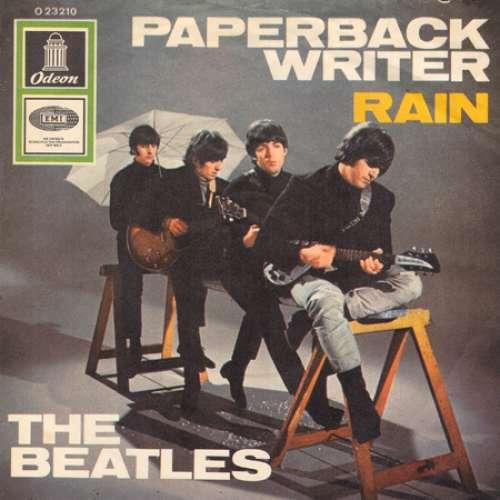 Cover The Beatles - Paperback Writer / Rain (7, Single) Schallplatten Ankauf