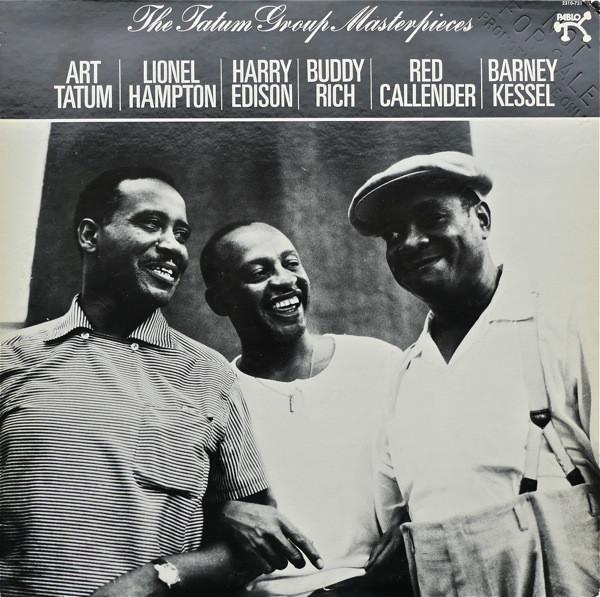 Cover Art Tatum / Lionel Hampton / Harry Edison / Buddy Rich / Red Callender / Barney Kessel - The Tatum Group Masterpieces (LP, Album) Schallplatten Ankauf