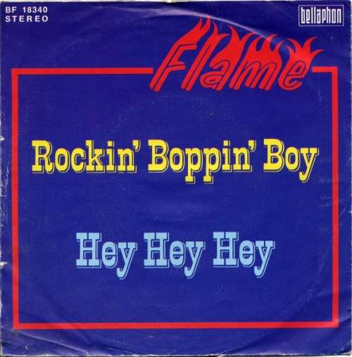 Cover Flame (42) - Rockin' Boppin' Boy (7, Single) Schallplatten Ankauf