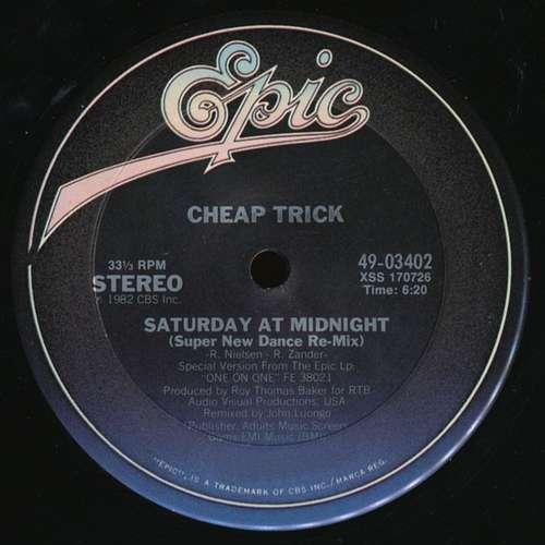 Bild Cheap Trick - Saturday At Midnight (12) Schallplatten Ankauf