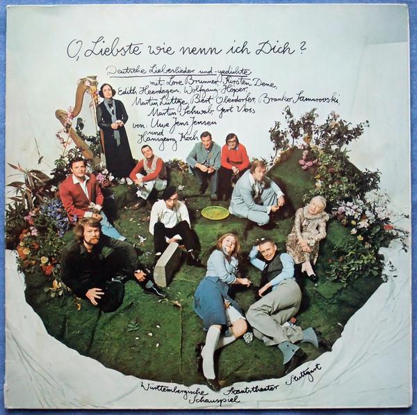 Cover Schauspiel Stuttgart - O, Liebste Wie Nenn Ich Dich - Ich Bin Ein Guter Untertan (LP, Album, Gat) Schallplatten Ankauf