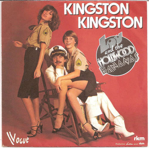Cover Lou & The Hollywood Bananas - Kingston Kingston (7, Single) Schallplatten Ankauf