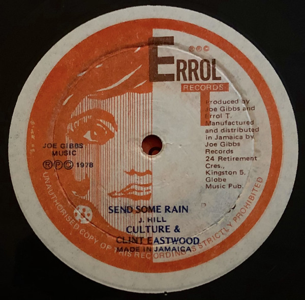 Cover Culture & Clint Eastwood, Joe Gibbs & The Professionals - Send Some Rain / Down Jamaica Way (12) Schallplatten Ankauf