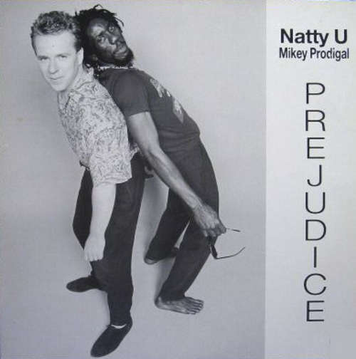 Cover Natty U / Mikey Prodigal - Prejudice (LP) Schallplatten Ankauf