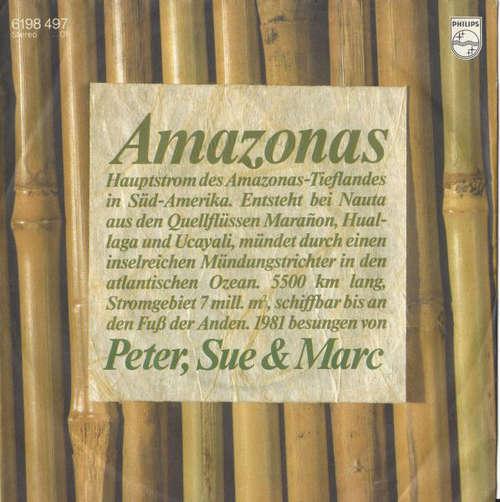 Cover zu Peter, Sue & Marc - Amazonas (7, Single) Schallplatten Ankauf