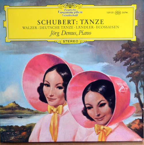 Bild Franz Schubert, Jörg Demus - Schubert Tänze: Walzer, Deutsche Tänze, Ländler, Ecossaissen (LP) Schallplatten Ankauf