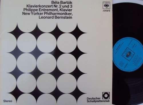 Bild Béla Bartók / Philippe Entremont / New Yorker Philharmoniker* / Leonard Bernstein - Klavierkonzert Nr. 2 Und 3 (LP, Album, Club) Schallplatten Ankauf