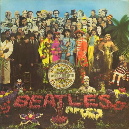 Cover Beatles, The - Sgt. Pepper's Lonely Hearts Club Band (LP, Album, RP, Gat) Schallplatten Ankauf