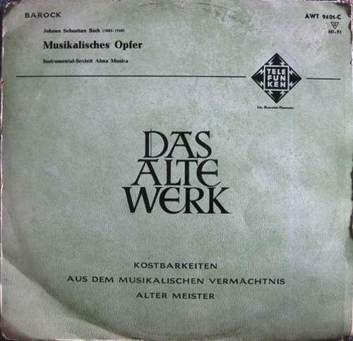 Cover zu Johann Sebastian Bach, Alma Musica - Musikalisches Opfer (LP, Mono) Schallplatten Ankauf