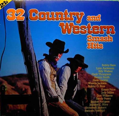 Bild Various - 32 Country And Western Smash Hits (2xLP, Comp) Schallplatten Ankauf