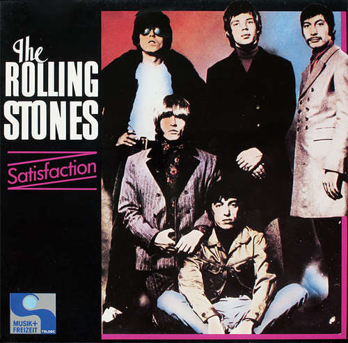 Cover The Rolling Stones - Satisfaction (LP, Comp) Schallplatten Ankauf