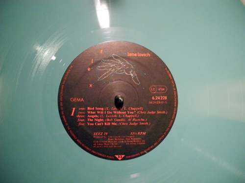 Cover zu Lene Lovich - Flex (LP, Album, Tur) Schallplatten Ankauf