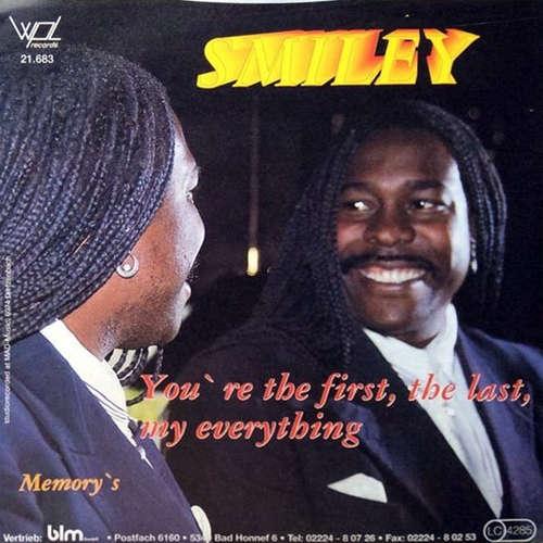 Bild Smiley (35) - You're The First, The Last, My Everything / Memory's (7, Single) Schallplatten Ankauf