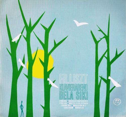 Cover zu Fr. Liszt*, Bela Siki - Klavierabend (LP, Mono) Schallplatten Ankauf