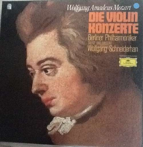 Bild Wolfgang Amadeus Mozart, Wolfgang Schneiderhan, Berliner Philharmoniker - Die Violinkonzerte (3xLP, Club) Schallplatten Ankauf