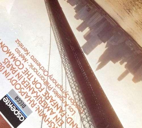 Cover George Gershwin, Aaron Copland, Zubin Mehta, Los Angeles Philharmonic Orchestra, István Kertész, The London Symphony Orchestra - Rhapsodie In Blue / Amerikaner In Paris / Fanfare For The Common Man (LP, Album) Schallplatten Ankauf