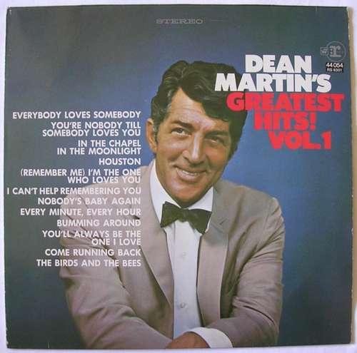 Cover Dean Martin - Dean Martin's Greatest Hits, Volume 1 (LP, Comp) Schallplatten Ankauf