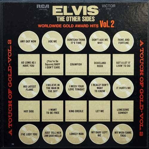 Cover Elvis Presley - The Other Sides - Worldwide Gold Award Hits - Vol. 2 (4xLP, Comp, Mono, RE, Ind + Box) Schallplatten Ankauf