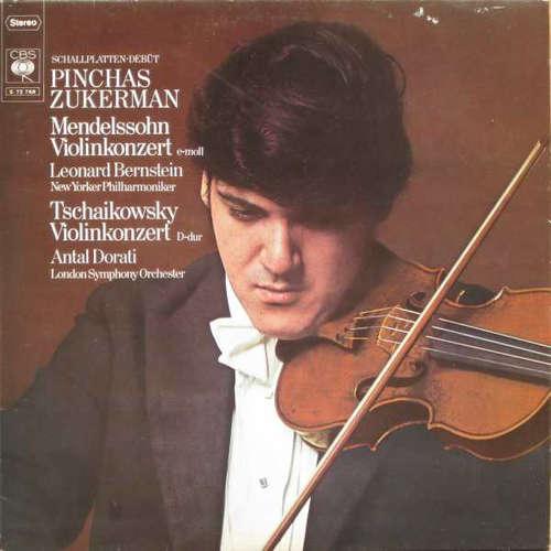 Bild Pinchas Zukerman, Mendelssohn*, Tchaikowsky* - Schallplatten-Debüt Mendelssohn Violinkonzert E-moll, Tchaikowsky Violinkonzert D-Dur (LP, Album) Schallplatten Ankauf