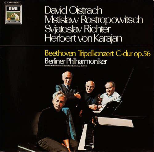 Bild Beethoven* - Berliner Philharmoniker, David Oistrach, Mstislaw Rostropowitsch*, Svjatoslav Richter*, Herbert von Karajan - Tripelkonzert C-Dur Op.56 (LP) Schallplatten Ankauf