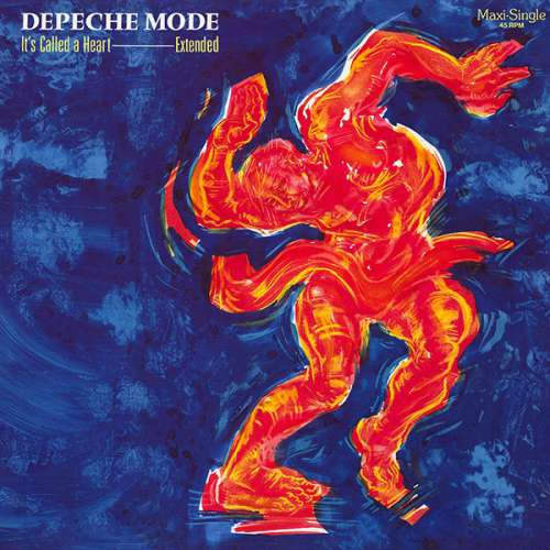 Cover Depeche Mode - It's Called A Heart (12, Maxi, Mut) Schallplatten Ankauf