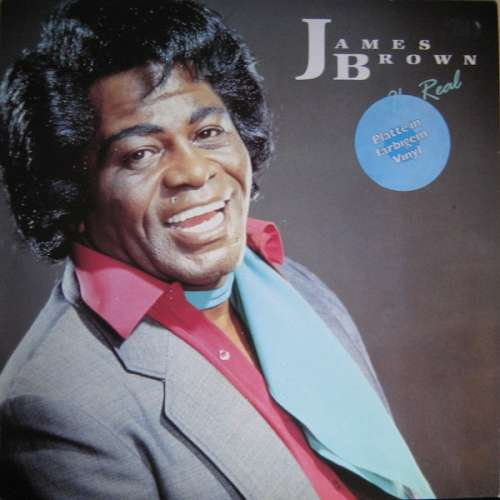 Cover James Brown - I'm Real (LP, Whi) Schallplatten Ankauf