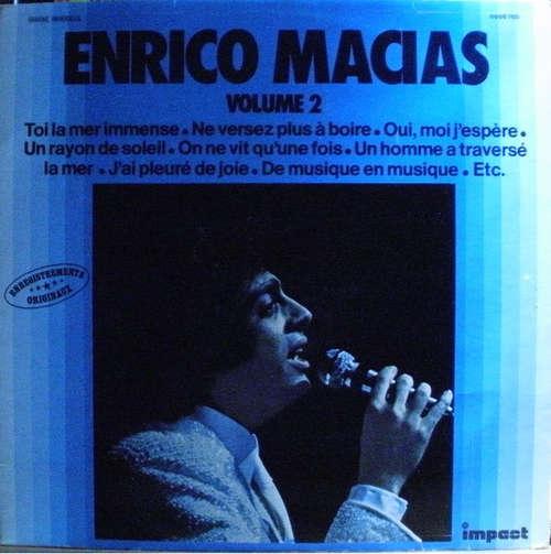 Bild Enrico Macias - Enregistrements Originaux - Volume 2 (LP, Comp, RE) Schallplatten Ankauf
