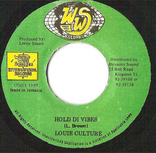 Bild Louie Culture - Hold Di Vibes (7) Schallplatten Ankauf