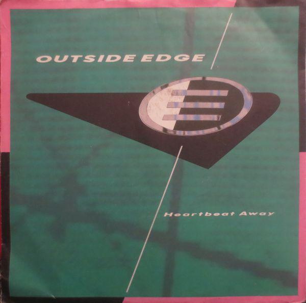 Cover zu Outside Edge - Heartbeat Away (7, Single) Schallplatten Ankauf