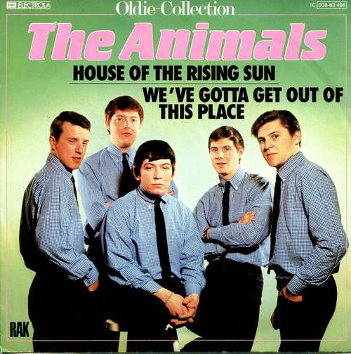 Cover zu The Animals - House Of The Rising Sun (7, Single, RE) Schallplatten Ankauf