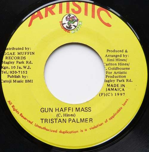 Bild Tristan Palmer - Gun Haffi Mass (7) Schallplatten Ankauf