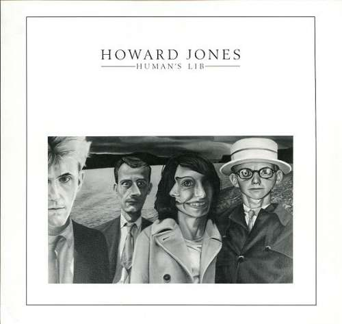 Bild Howard Jones - Human's Lib (LP, Album, Bla) Schallplatten Ankauf