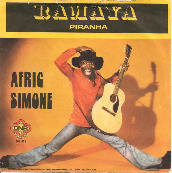 Cover zu Afric Simone - Ramaya (7, Single, Red) Schallplatten Ankauf
