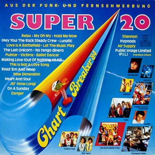 Cover Various - Super 20 Chart-Breaker '84 (LP, Comp) Schallplatten Ankauf