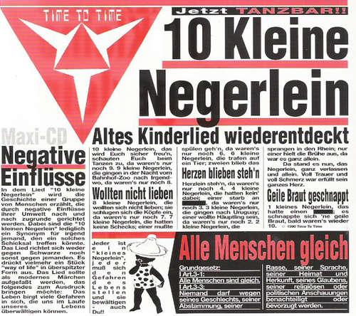 Bild Time To Time - 10 Kleine Negerlein (CD, Maxi, RE) Schallplatten Ankauf