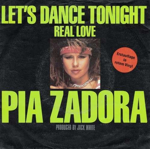 Bild Pia Zadora - Let's Dance Tonight (7, Single, Red) Schallplatten Ankauf