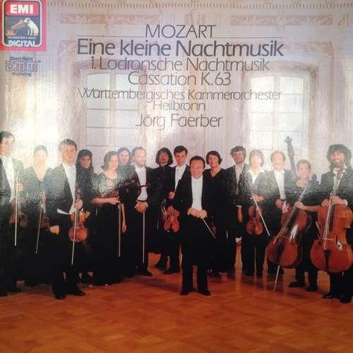 Cover zu Mozart* / Württembergisches Kammerorchester Heilbronn* / Jörg Faerber - Eine Kleine Nachtmusik - Divertimento F-Dur KV 247 - Cassation G-Dur KV 63 (LP, Album) Schallplatten Ankauf