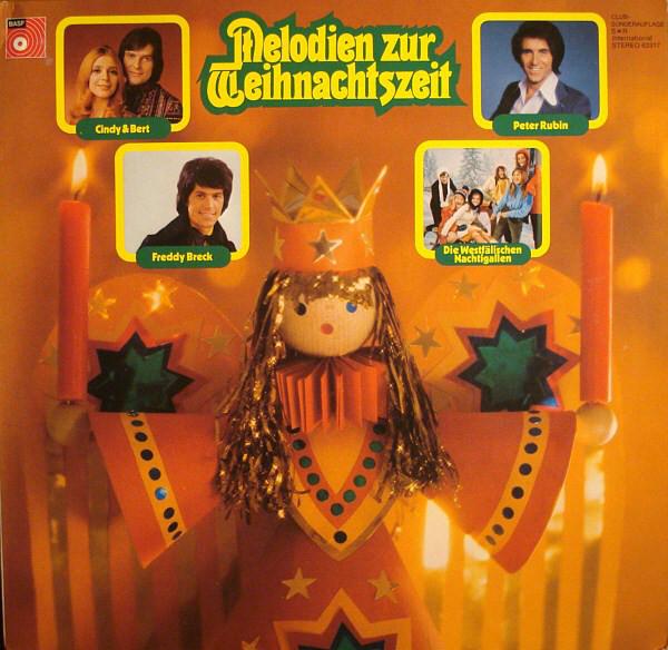 Cover zu Various - Melodien Zur Weihnachtszeit (LP, Comp, Club) Schallplatten Ankauf