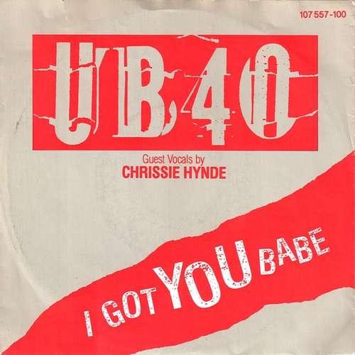 Cover UB40 Guest Vocals By Chrissie Hynde - I Got You Babe (7, Single) Schallplatten Ankauf