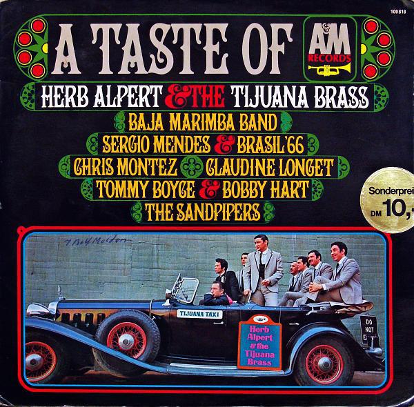 Cover Various - A Taste Of A&M Records (LP, Smplr, Gat) Schallplatten Ankauf