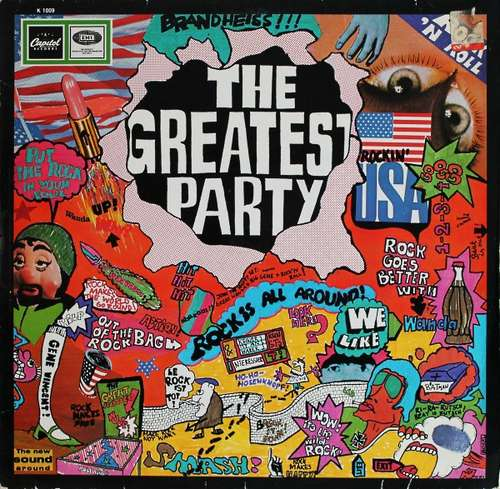 Bild Jackson* / Vincent* - The Greatest Party (LP, Comp, Mono) Schallplatten Ankauf