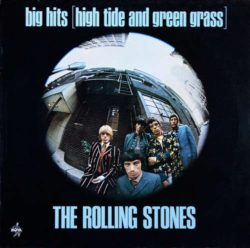 Cover The Rolling Stones - Big Hits (High Tide And Green Grass) (LP, Comp, RE) Schallplatten Ankauf