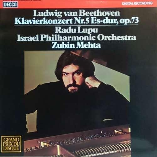 Bild Ludwig van Beethoven, Radu Lupu, Israel Philharmonic Orchestra, Zubin Mehta - Klavierkonzert Nr. 5 Es-dur, Op. 73 (LP, blu) Schallplatten Ankauf